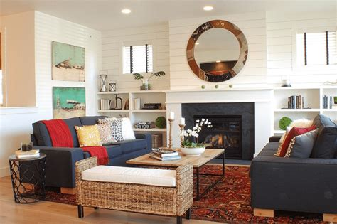 farmhouse living room 20 farmhouse style living rooms Colorful