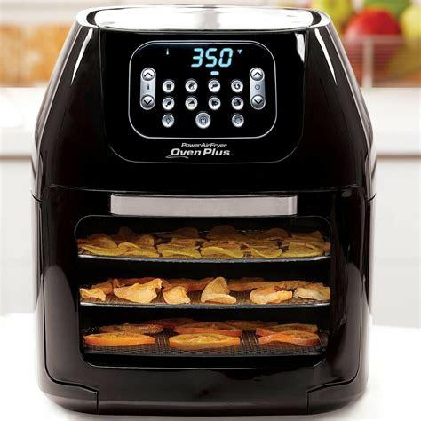 fryer oven air power plus rotisserie dehydrator quart