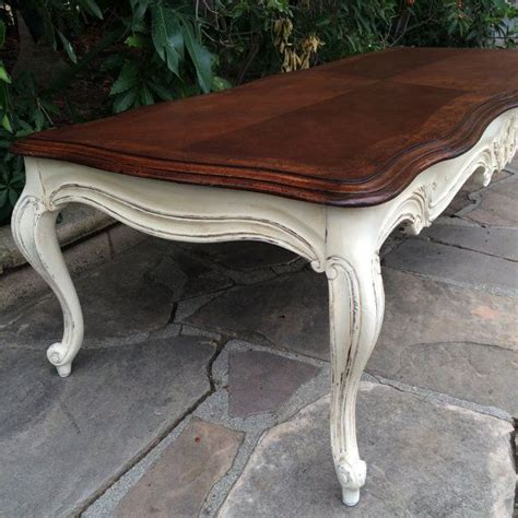 french provincial coffee table and end tables available french provincial solid wood long coffee