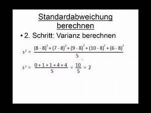 Gewinnchance Berechnen : excel var p stabw n vs var s stabw s varianzen doovi ~ Themetempest.com Abrechnung