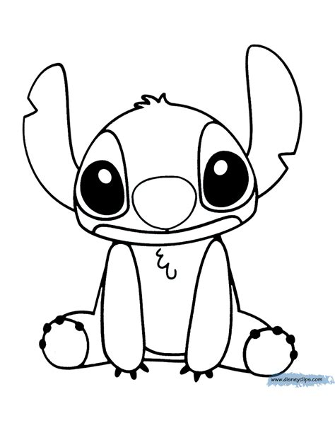 Lilo and Stitch Printable Coloring Pages Disney Coloring