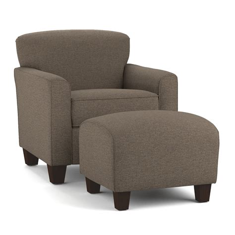 alcott hill arm chair ottoman set reviews wayfair