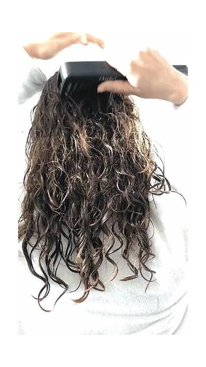 Wet Brush Hair Comb Brushing Breakage Combing