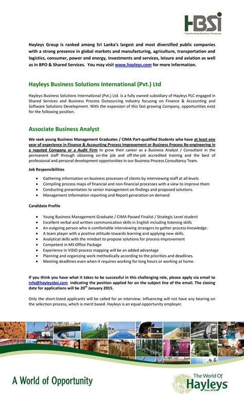 Associate Business Analyst Job Vacancy In Sri Lanka. Build My Resume Free. Resume Design Examples. Freelance Resume Samples. Account Manager Resumes. Resume Samples Healthcare. Sample Resume For Construction Site Supervisor. Makeup Artist Objective Resume. Software Implementation Resume