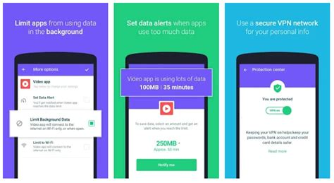 new android app protect free vpn data manager