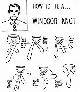 how to tie a With tie tying diagram