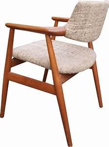 Fauteuil Bois Et Tissu : fauteuil scandinave en bois et tissu beige 1960 design ~ Melissatoandfro.com Idées de Décoration
