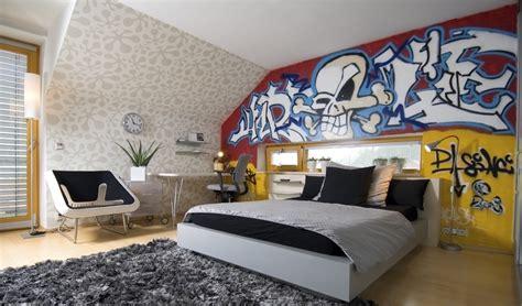 chambre style décoration chambre ado urbain