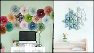 Easy paper decor ideas to spruce up plain and boring walls