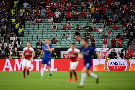 Find all uefa europa league final: 2019 Europa League Final Attendance In Baku Is Shockingly Poor