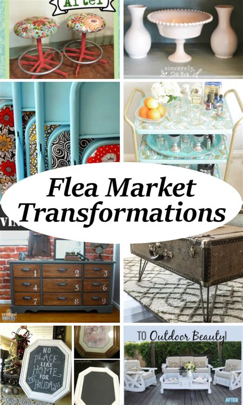 diy flea market projects diy home sweet home incredible flea market transformations