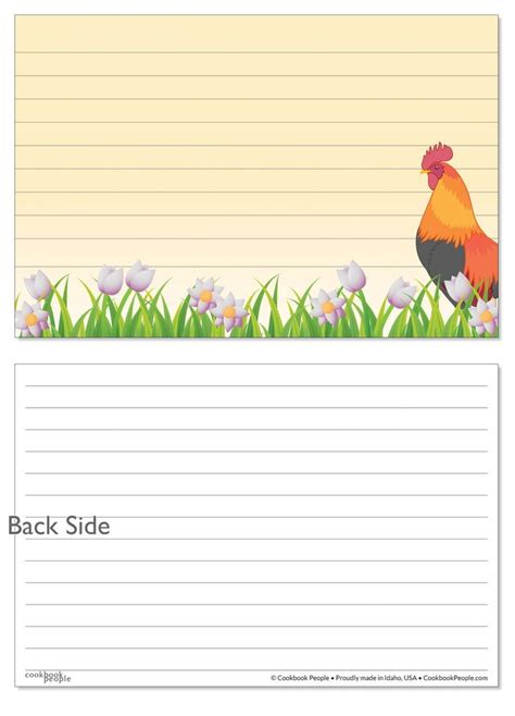 cr gibson recipe card template 1552 best images about cool recipe cards on