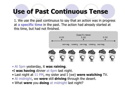 F2f Past Continuous