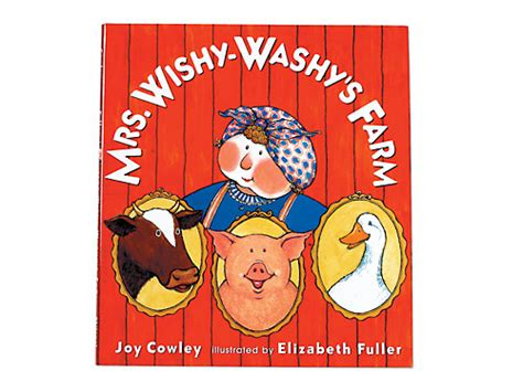 Mrs. Wishy-washy's Farm Hardcover Book At Lakeshore Learning