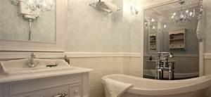 Tapete Für Badezimmer : badezimmer tapezieren tipps f r tapeten und vorbereitung ~ Watch28wear.com Haus und Dekorationen