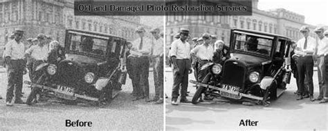 Photo Restoration Services to Restore Damaged and Old ...