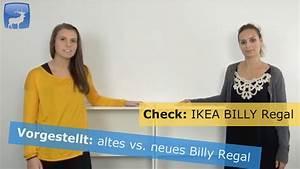 Regal Ikea Billy : ikea billy regal vergleich von neu und alt outtakes youtube ~ Watch28wear.com Haus und Dekorationen