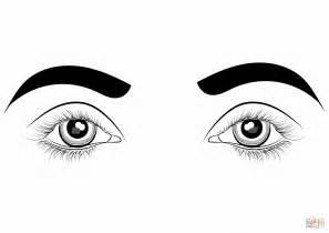 Dibujo De Ojos Para Colorear
