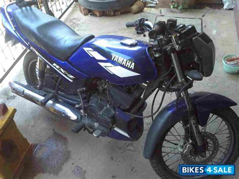 second yamaha rxz in bangalore modified dome