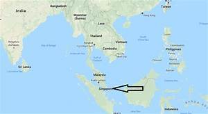 Where is Singapore? Located On The World Map