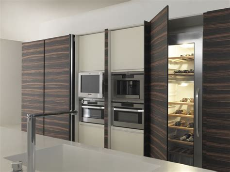 Kitchen Cupboards With Sliding Doors by Twenty Units With Integrated Appliances And Wine