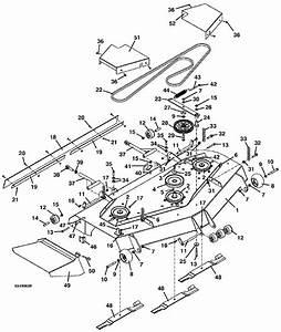 The Mower Shop  Inc Deck Assembly 61 U2032 220 225 2000 2001