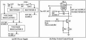 Dc Power Supply And Relay Switch Control Circuit