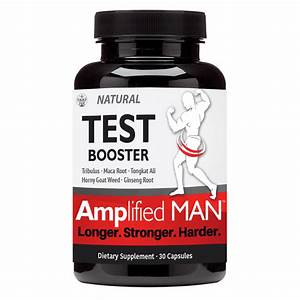 Amplified Man Testosterone Booster  U2013 Jamaica Herbal