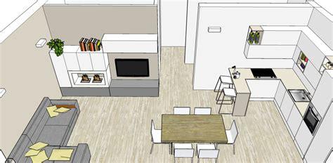 Progetto Living con cucina e tanti desideri Mayday Casa Blog e Progetti