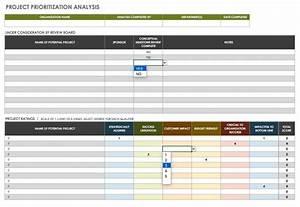 Benefit Effort Matrix Excel Template
