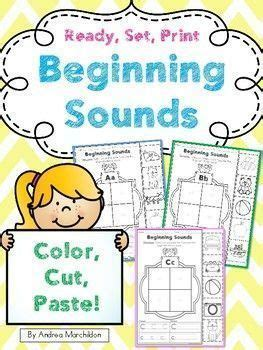beginning sounds worksheets    images