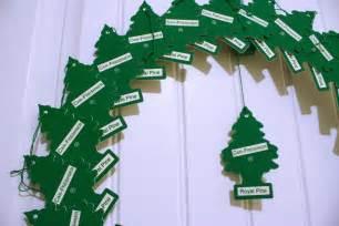 pine tree air freshener christmas wreath chica and jo