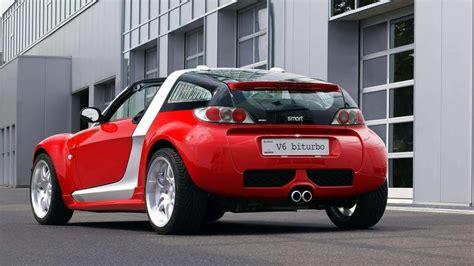 brabus smart roadster coupe  biturbo  youtube