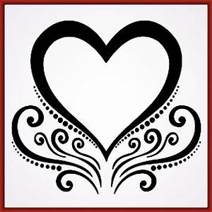 dibujos de corazones bonitos y faciles Archivos Fotos de Corazones