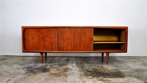 Bar Buffet Sideboard by Select Modern H P Hansen Teak Credenza Buffet