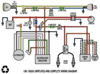 1975 Mercury 850 Wiring Diagram by Some Wiring Diagrams Yamaha Xs650 Forum