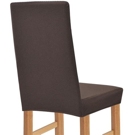 housse de chaise extensible pas cher acheter vidaxl housse extensible de chaise 4 pièces piqué