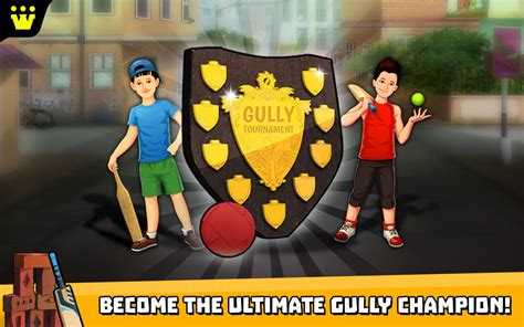 gully cricket 2018 android apps on play