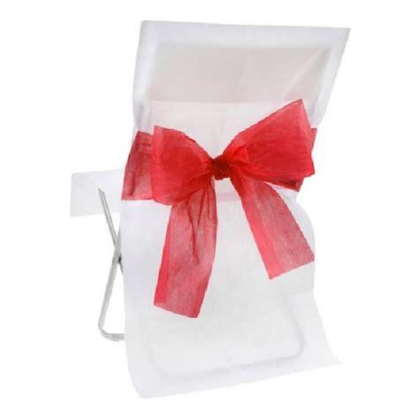 noeud pour chaise acheter housse de chaise mariage intissée blanche avec
