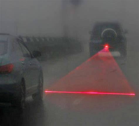 laser attaches      car  prevent