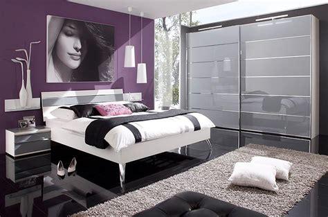 chambre mauve et blanc chambre à coucher contemporaine mailleux photo 4 20