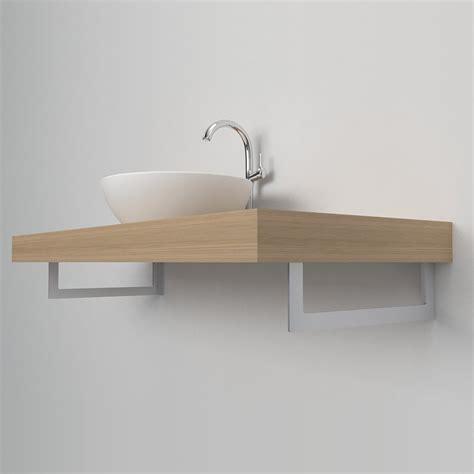 supporti per mensole in legno porta asciugamani reggimensola mensole lavabo in tre