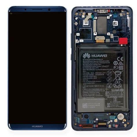 ecran complet mate 10 pro huawei bleu 02351rvh service pack pi 232 ce originale gsmclinique 169