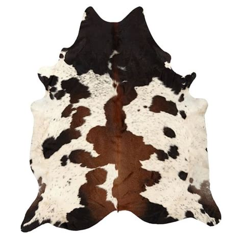 How To Make A Cowhide Rug by Black And Brown Spotted Cowhide Rug Pbteen