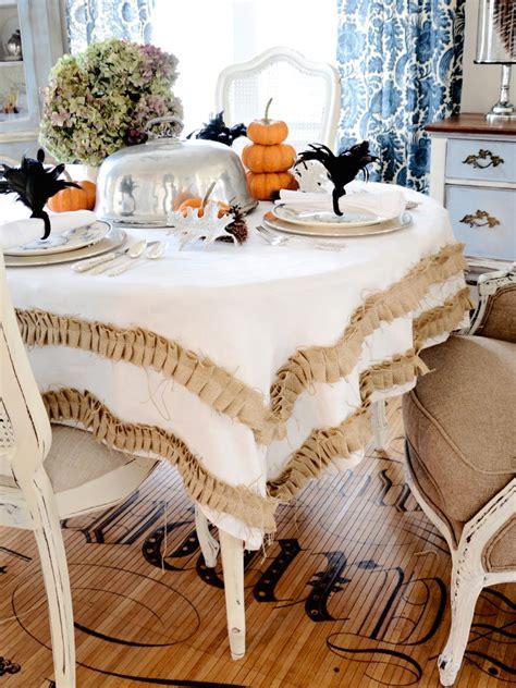 table cloth decoration thanksgiving table setting ideas hgtv