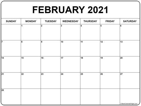 february calendar templates printable calendars