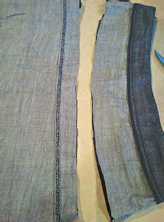 ruched denim pillow upcycle