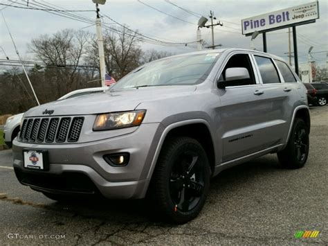 2015 billet silver metallic jeep grand cherokee altitude