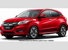 New Honda Vezel Body colors, Full variation of exterior