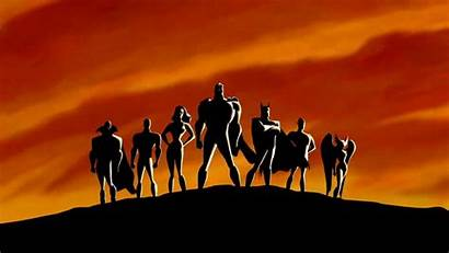 Justice League Wallpapers Unlimited Animated Series Theme